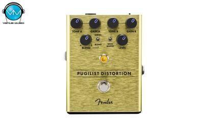Pedal Fender Pugilist Distortion Pedal 0234534000