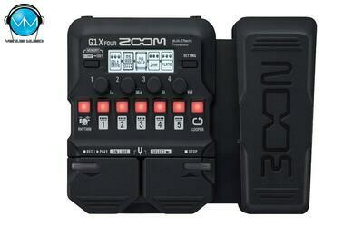 Multiefectos para Guitarra Zoom G1X FOUR -con pedal de expresión