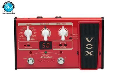 Multiefectos para Bajo Vox StompLab 2B