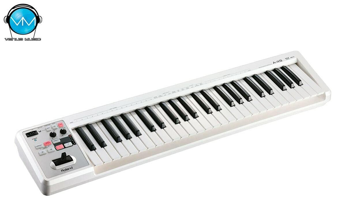 Teclado Controlador MIDI Roland A-49