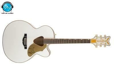 Guitarra Electroacústica Gretsch G5022CWFE Rancher™ Falcon, Jumbo, Electric, Fishman® White