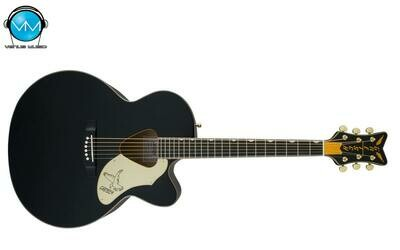 Guitarra Electroacústica Gretsch G5022CBFE Rancher™ Falcon™ Jumbo Cutaway Acoustic/Electric, Fishman® Black