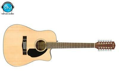 Guitarra Electroacústica Fender 12 Cuerdas Natural