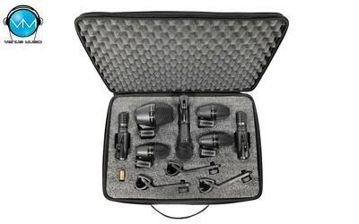 Set de Micrófonos para Batería Shure PGADRUMKIT7