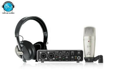 Sistema Behringer de Grabación U-Phoria Studio Pro