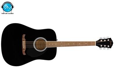 GUITARRA ACÚSTICA FENDER FA-125 DREADNOUGHT, WALNUT BLACK W/BAG 0971210706