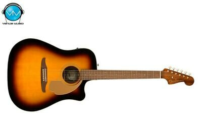 GUITARRA ELECTROACÚSTICA FENDER REDONDO PLAYER SUNBURST 0970713003