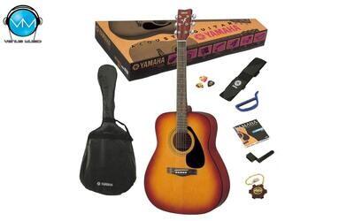 Guitarra Acústica Yamaha F310PTBS (Pack)