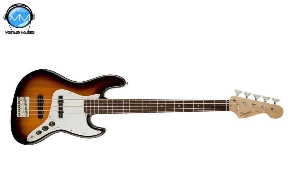Bajo Eléctrico Fender Squier JazzBass 5 Cuerdas