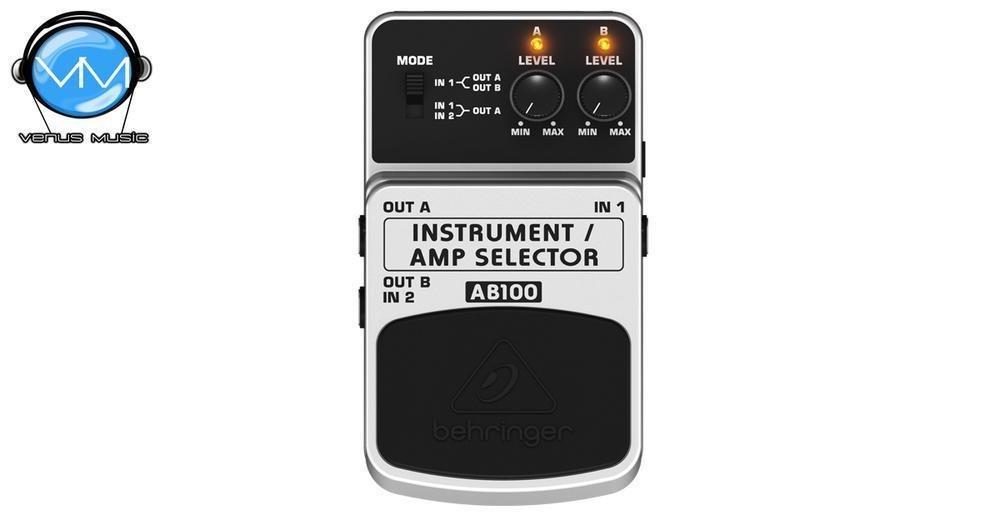 BEHRINGER GUITAR / AMP SELECTOR AB100