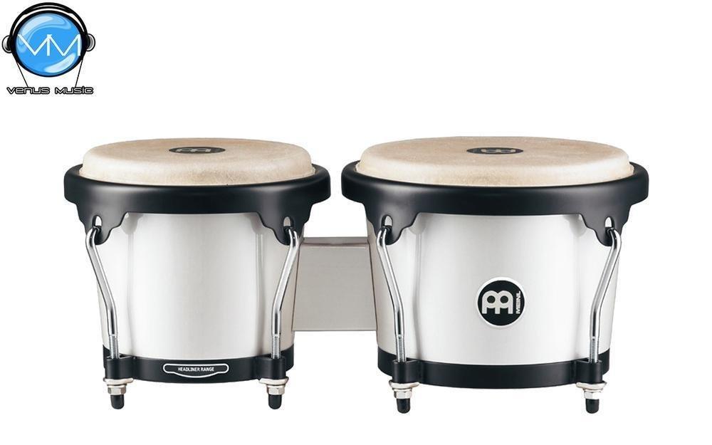 Bongos Meinl Pearl White HB100PW