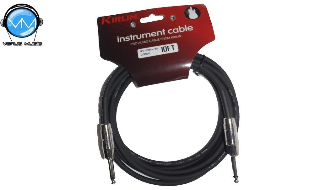 Cable para Instrumento Kirlin 10FT