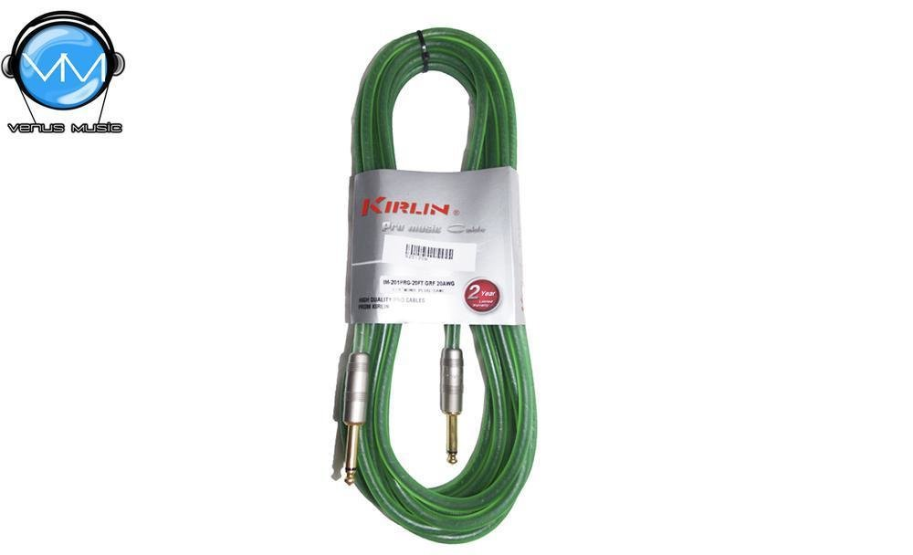Cable para Instrumento Kirlin IM-201PRG-20FT/GRF 20FT