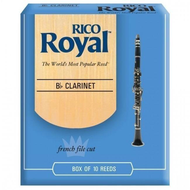 Caña p/clarinete Bb Rico Royal #1 1/2