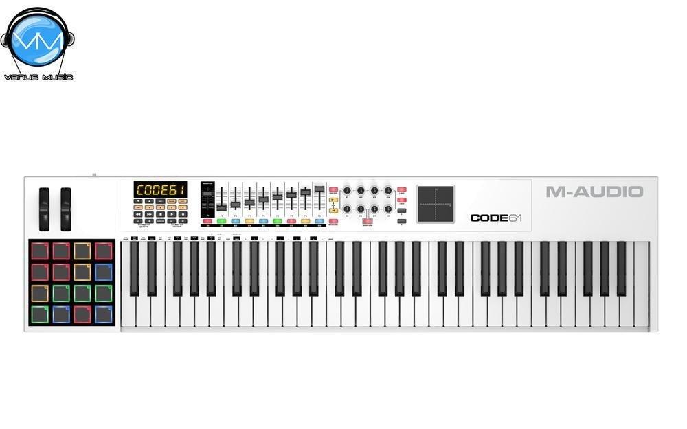 CONTROLADOR MIDI USB CODE 61 CON X/Y PAD