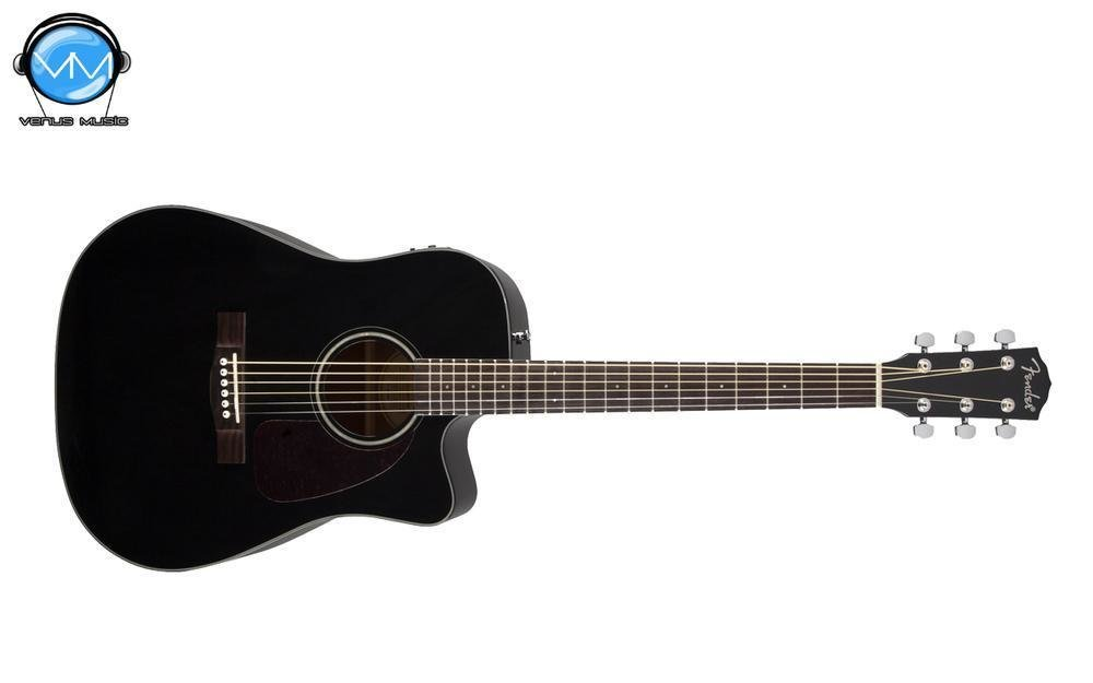 Guitarra Electroacústica Fender CD-140SCE, BLACK V2