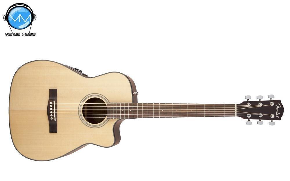 Guitarra Electroacústica Fender CF140SCE Folk Natural