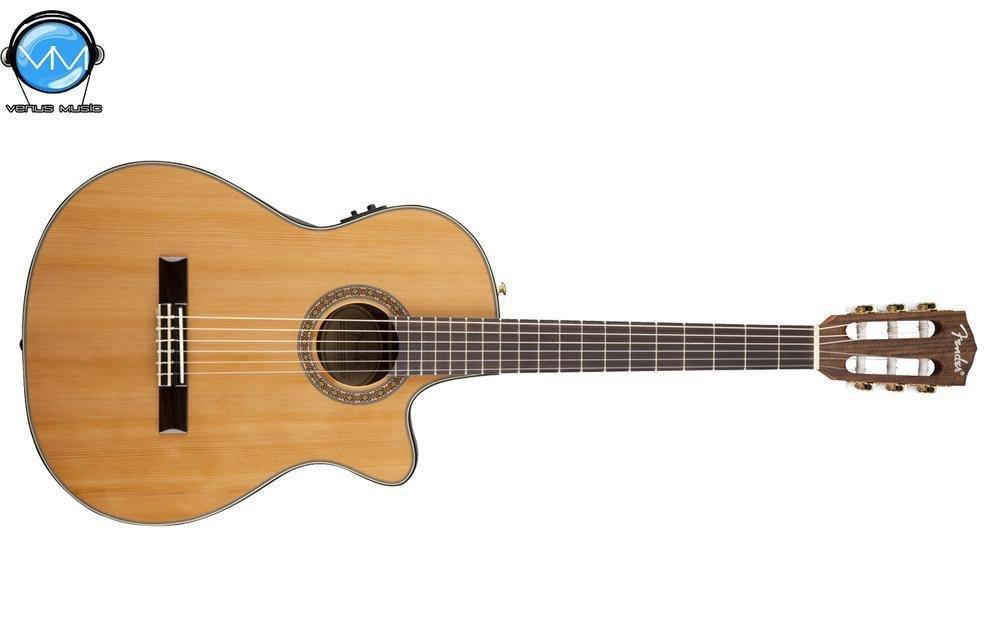 Guitarra Electroacústica Fender Thinline Classical CN240SCE