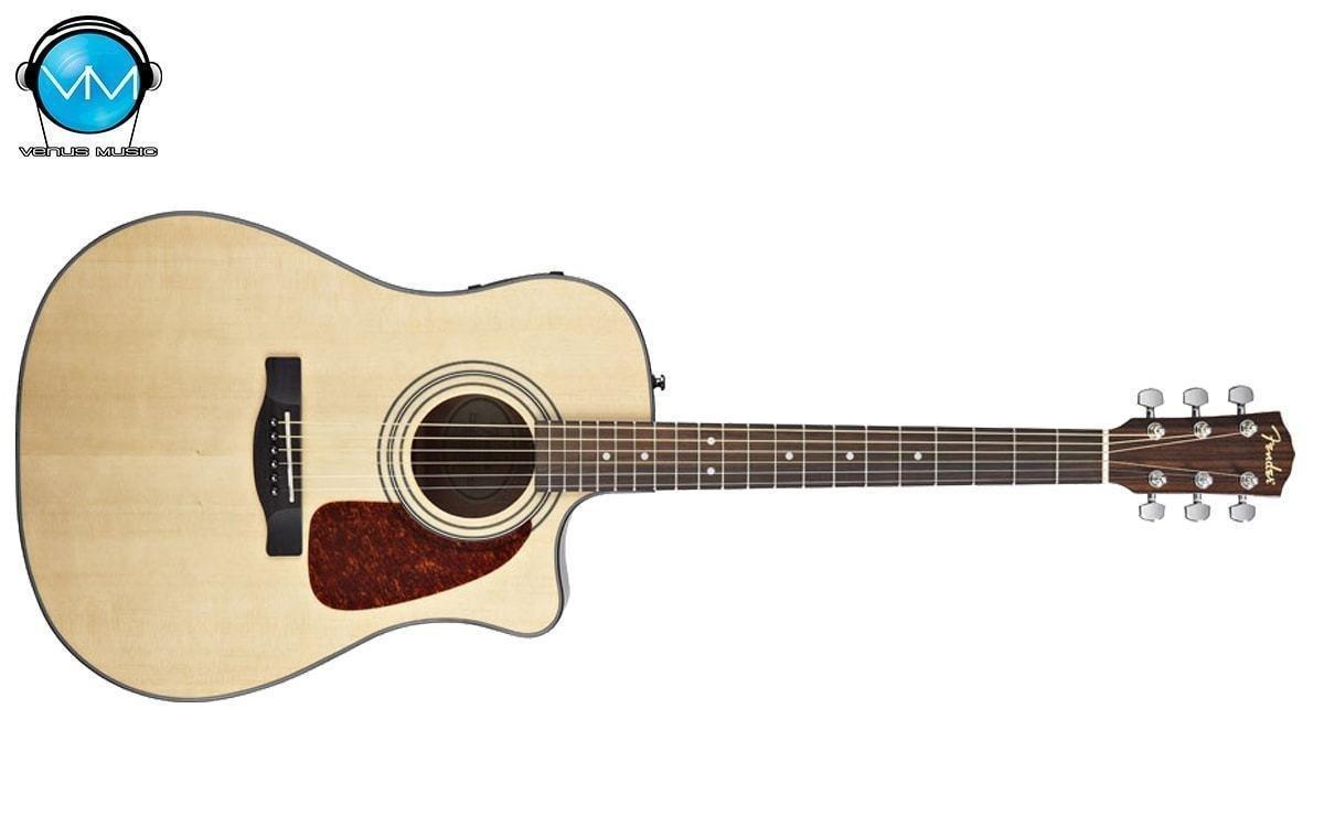 Guitarra Fender Electroacústica CD-140SCE Natural con Estuche Rígido