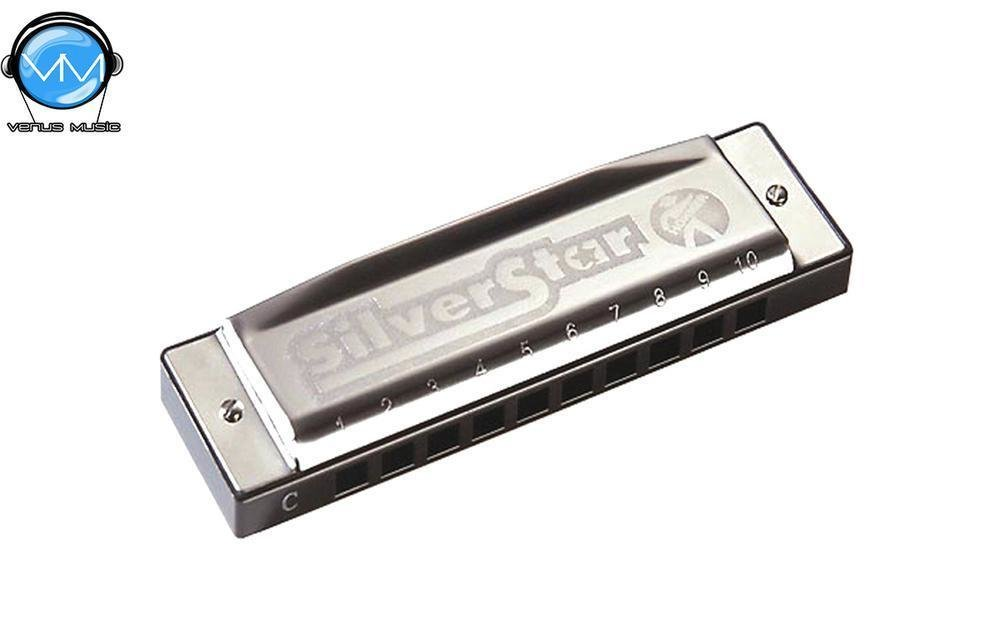 Hohner M50401S Silver Star Armónica Do 20V