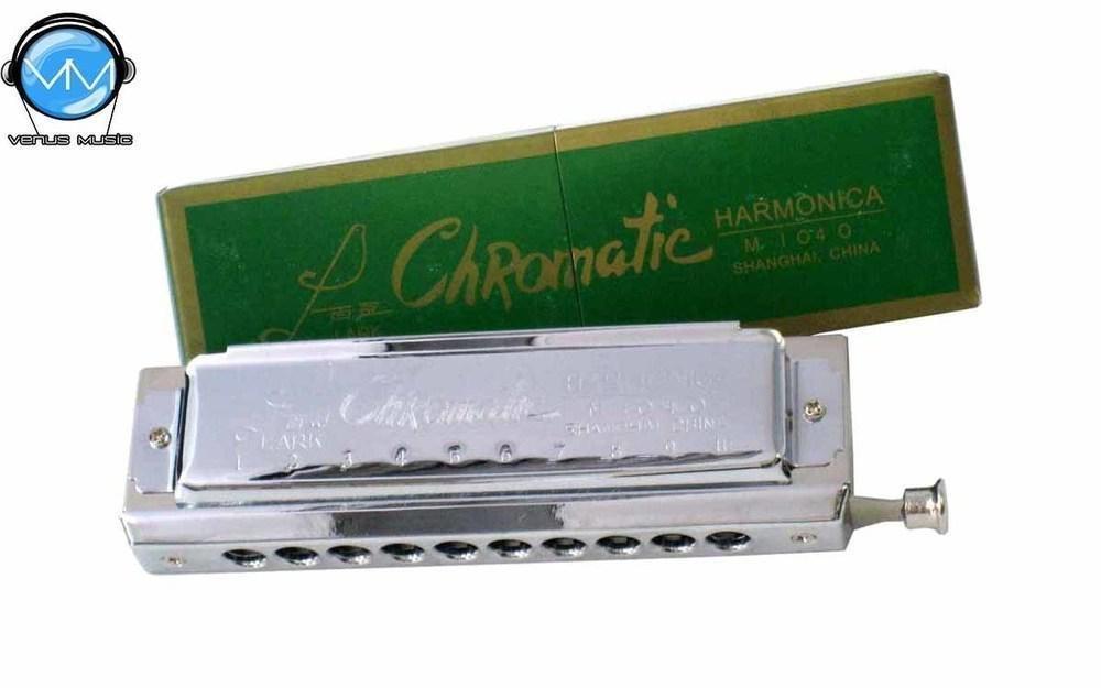LARK ARMÓNICA CROMÁTICA 40V. PLAS. MOD. M1040A/40