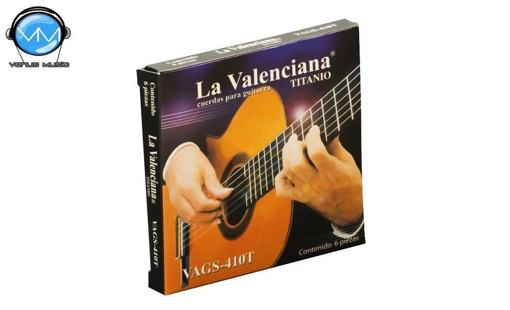 La Valenciana 410T Encordadura Guitarra Clásica