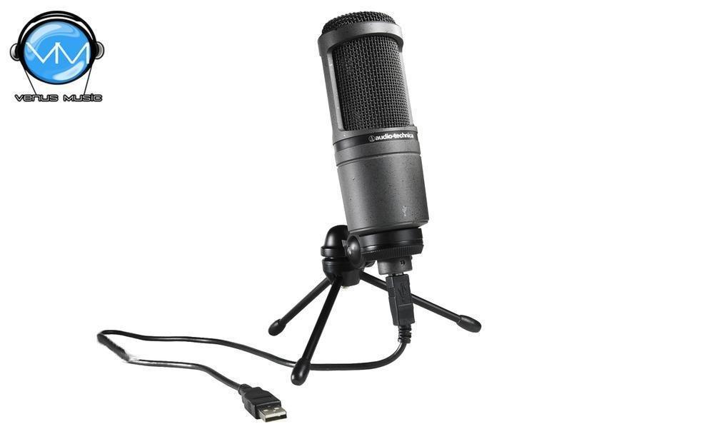 Micrófono Condensador Audio-technica AT2020 USB