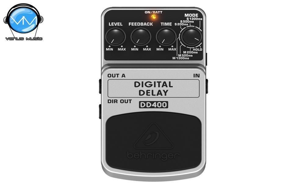 PEDAL BEHRINGER DIGITAL DELAY DD400