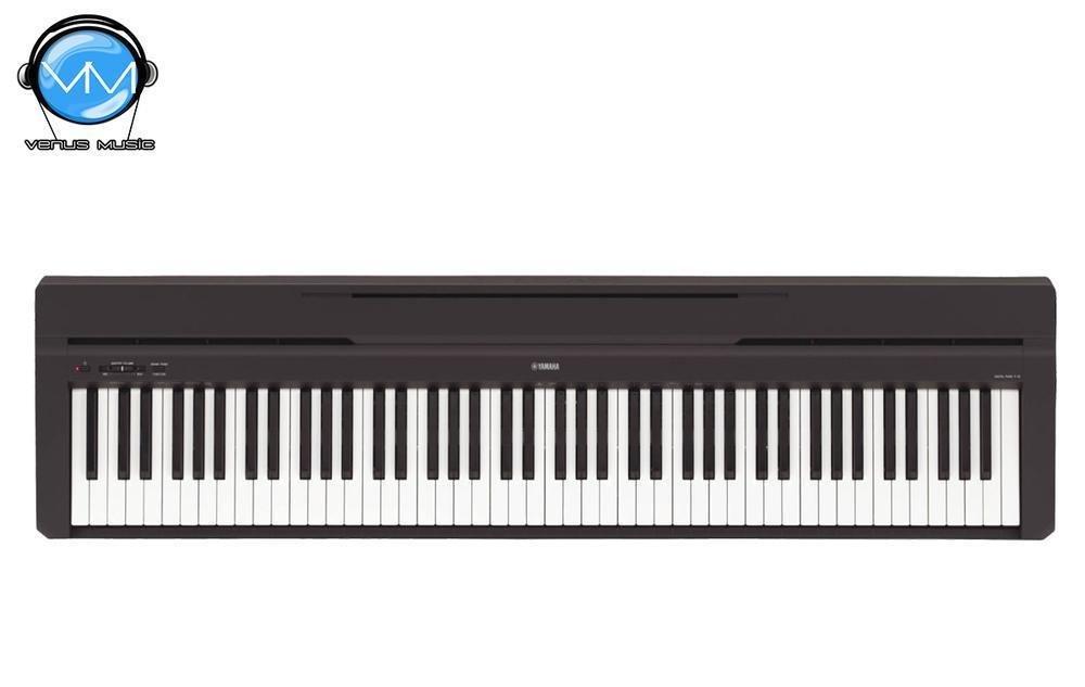 Piano Digital Básico Yamaha P45BSPA (Negro)