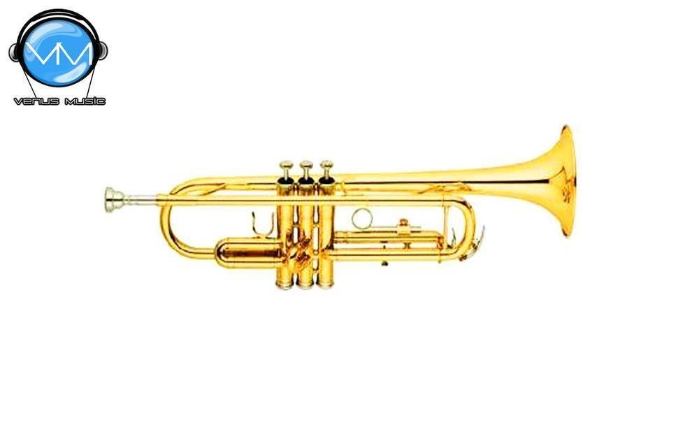 Trompeta Laqueada Mercury JBTR-300L