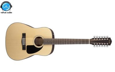 Guitarra Electroacústica Fender 12 Cuerdas CD100CE12