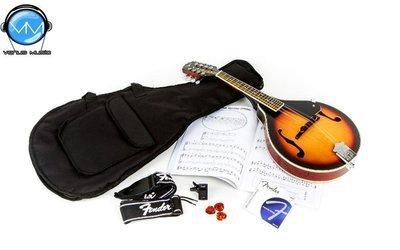 Fender Concert Tone Mandolin Pack Vintage Sunburst