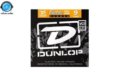Dunlop DEN0942 Encordadura Guit. Eléctrica Light Nickel