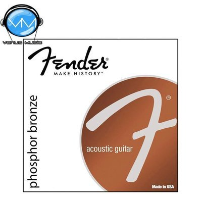 ENCORDADURA FENDER PHOSPHOR BRONZE 60CL