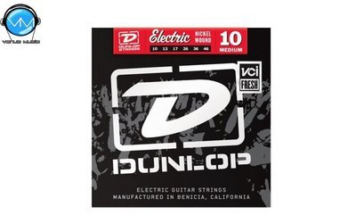 Dunlop DEN1046 Encordadura Guit. Eléctrica Med. Nickel