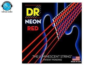 Encordadura DR Bajo 5 cuerdas NEON Red 45-125