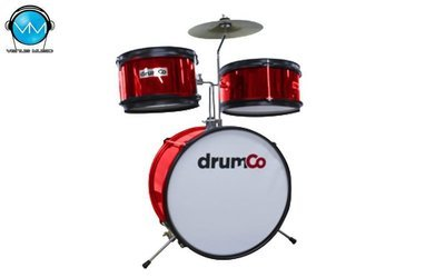 Batería Infantil drumco Bambino color Rojo