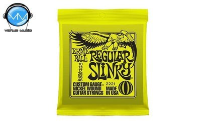 Ernie Ball 2221 Regular Slinky Encordadura Guit. Eléctrica