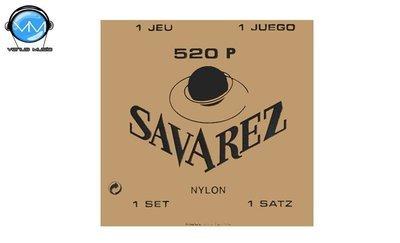 Encordadura Savarez 520P Tradicional Enc. Guit. Entorchado Nylon Tensión alta.