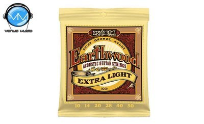 Ernie Ball 2006 Earthwood ExtraLight Encordadura Guit. Acust.