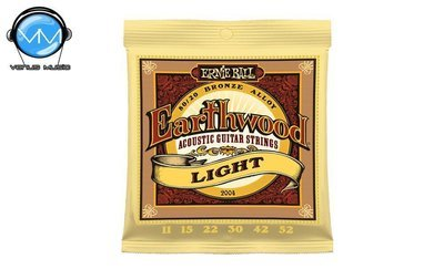 Ernie Ball 2004 Earthwood Light Encordadura Guit. Acust.
