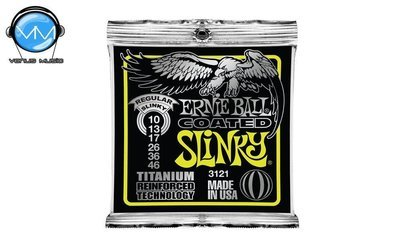 Ernie Ball 3121 Slinky Encordadura Guit. Eléctrica Reg. Coated