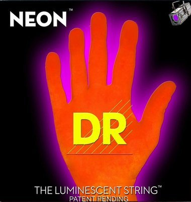 Encordadura DR Neon Super String Naranja