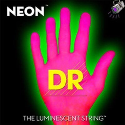 Encordadura DR Neon Super String Rosa