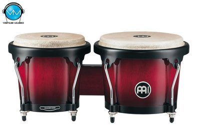JGO. BONGOS MEINL HB100 WINE RED BURST