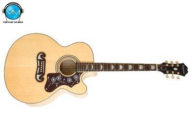 Guitarra Electroacústica Epiphone EJ200CE Natural