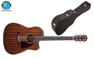 Guitarra electroacústica Fender CD140SCE CAOBA con Estuche