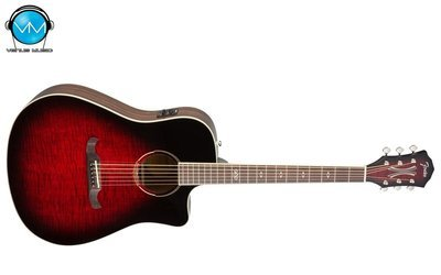 Guitarra Electroacústica Fender T-Bucket 300CE Red