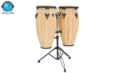 Set de Congas LP City 11 y 12 Natural LP647NY-AW