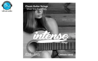 Encordadura Intense Strings Classic Guitar Nylon CW860